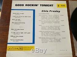 Elvis Presley Rare 10 Inch- French Good Rockin Tonight- Original Mint