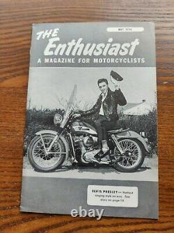 Elvis Presley Rare 1956 The Enthusiast Magazine For Motorcyclists