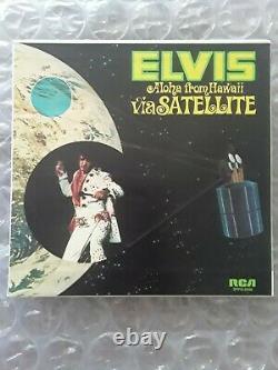 Elvis Presley Rare Aloha From Hawaii Jukebox Ep&cover&strips Mint Original
