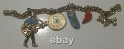 Elvis Presley Rare Charm Bracelet Original 1956 EPE 5 Charms FREE P&P UK
