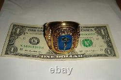 Elvis Presley- Rare Elvis Aron Presley Memorial Tcb Graceland Paperweight Ring