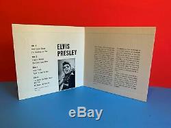 Elvis Presley Rare Epb 1254 Record Gatefold Sleeve Promo Not For Sale 2 Records