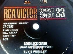 Elvis Presley Rare Good Luck Charm 33 Compact Single Ex-nm Original 1962