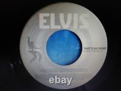 Elvis Presley Rare Gray/silver Label Thats All Right/thats All Right 45 Nm
