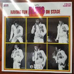 Elvis Presley Rare Having Fun With Elvis On Stage Boxcar TIGHT SHRINK MINT