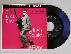 Elvis Presley Rare Original 1956 Pressing NO DOG LABEL EPA-940 THE REAL ELVIS