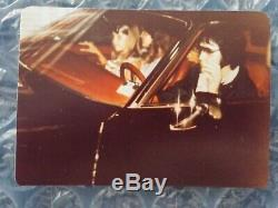Elvis Presley Rare Original Candid Photo Elvis Ginger&lisa Marie Aug 12th 1977