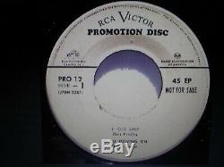 Elvis Presley Rare Original Old Shep White Label Promo 45 Ep 1956 Excellent