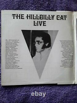 Elvis Presley Rare Original The Hillbilly Cat Live 2 Lps Las Vegas Ex-nm Wl 71
