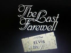 Elvis Presley Rare Original The Last Farewell 2 Lps June 26th 1977 Ind Msa Nm B