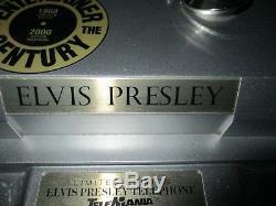Elvis Presley-Rare Téléphone Numéroté-Elvis(30 cm) chante et danse-Fonctionne