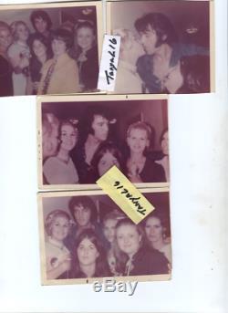 Elvis Presley Rare Vintage Las Vegas International Back Stage Sept 1970 Kodak