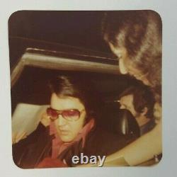 Elvis Presley Rare Vintage Original Kodak Photo Hillcrest Blvd Elvis In Stutz