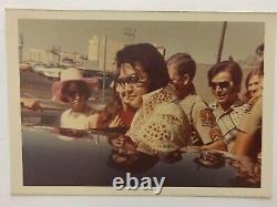 Elvis Presley Rare Vintage Original Photo Authentic Candid Phoenix April 22/73