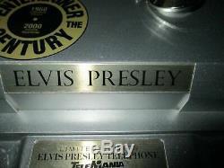 Elvis Presley-Rare poupée sur téléphone numéroté-Elvis(30 cm) chante&danse