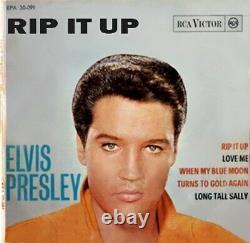 Elvis Presley Rip It Up (1964) RCA Victor EPA 30 091 vinyl rare VG+/VG+