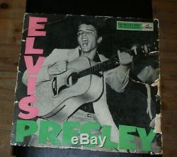Elvis Presley Rock N Roll Original Rare 1956 Uk Hmv Vinyl Lp Clp 1093