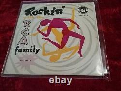 Elvis Presley Rockin with the RCA family Volume III Very Rare Belgium Ep 1956