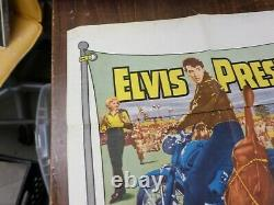Elvis Presley Roustabout, Rare Original Poster 1 Sheet, Not A Reproduction