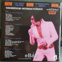 Elvis Presley SHOWROOM INTERNATIONALE boxset 2 LPs RED vinyl, 2 CDs RARE