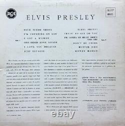 Elvis Presley Same A12p 0031, 1957 Blue Label Rca Italiana Ex/ex Super Rare