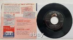 Elvis Presley Save-On-Records Music Sampler EP 45 rpm & ps Original Mega Rare