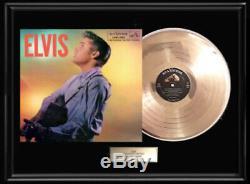 Elvis Presley Second Album Framed Lp Vinyl Record Rare Non Riaa Award
