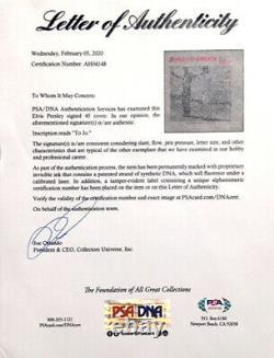Elvis Presley Signed Zorba's Dance Album Cover Framed PSA/DNA RARE Graceland