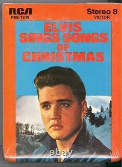 Elvis Presley Sings Songs of Christmas 8 Track (New Factory Sealed) VERY RARE