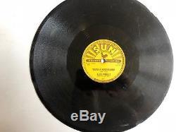 Elvis Presley Sun 215 78 Milkcow Blues Boogie RARE Rockabilly NICE HEAR