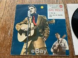 Elvis Presley Super Rare Italiana Moon Cover- Excellent -blue Label-silver