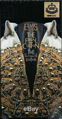Elvis Presley The Final Curtain Ultimate Edition 14 CD 7 DVD Set Rare