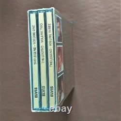 Elvis Presley' The Legend' First Edition' 3 CD Box Set Rare