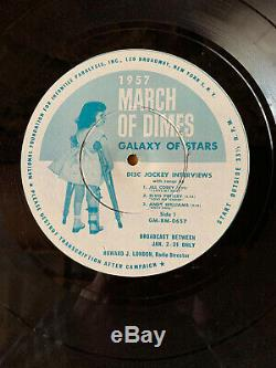 Elvis Presley The March Of Dime Ultra Rare 16 Record Near Mint