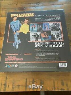 Elvis Presley The making of Viva Las Vegas Book and cds Super Rare