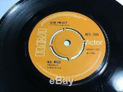 Elvis Presley U. S. Male RARE RCA 1688 orange release