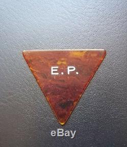 Elvis Presley Used Guitar Pick 1977 Concert Last Tour Rare Ep