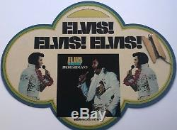 Elvis Presley Very Rare And Cool Advertisisng Mobil