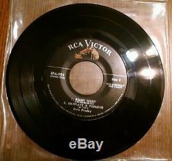 Elvis Presley Vol 2 Silver Line 45rpm Ep Record Epa-993 Vinyl Lp 1956 Rare