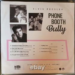 Elvis Presley WHBQ Memphis 3x 10 vinyl LP ULTRA RARE Dynamic Sound Label SUN
