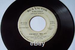Elvis Presley Wow! Very Rare Promo Original Record Air Play Special Sp-45-162