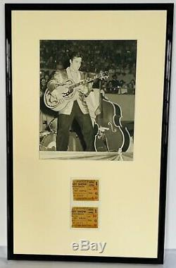 Elvis Presley -awesome Item, Two Original Fifties Show Tickets. Extremely Rare