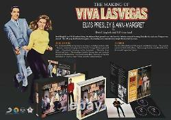 Elvis Presley making of viva las vegas brand new mint rare book ftd set