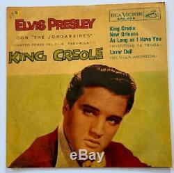 Elvis Presley-mega Rare Ep From Chile, Impossible To Find