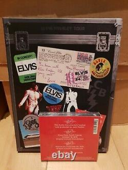 Elvis Presley on the road with elvis ultra rare book + cd set new FTD CD