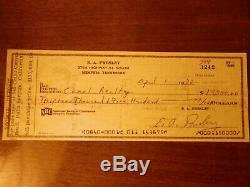 Elvis Presley signed graceland archives check rare