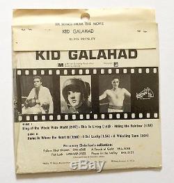 Elvis Presley-very Rare 100% Original Still Sealed Kid Galahad USA Ep