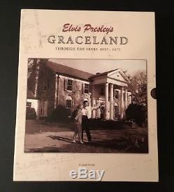 Elvis Presleys Graceland Thru The Years Book Rare And Out Of Print