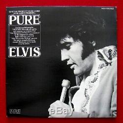 Elvis Pure Elvis ULTRA RARE 1979 Promo LP DJL1-3455