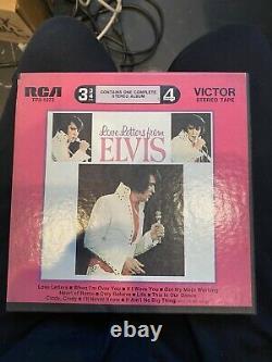 Elvis REEL TO REEL-Love Letters From Elvis RARE